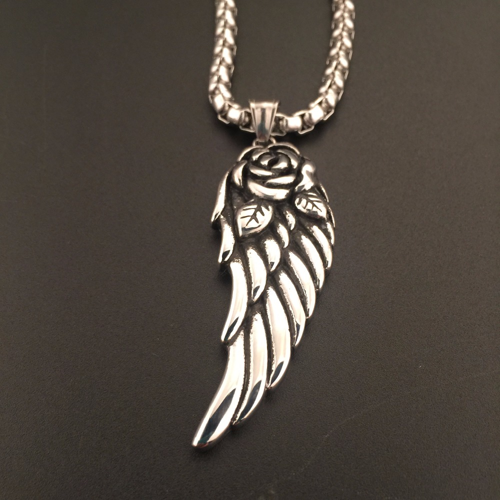 sterling angel wing cz necklace silver cubic zirconia pendant