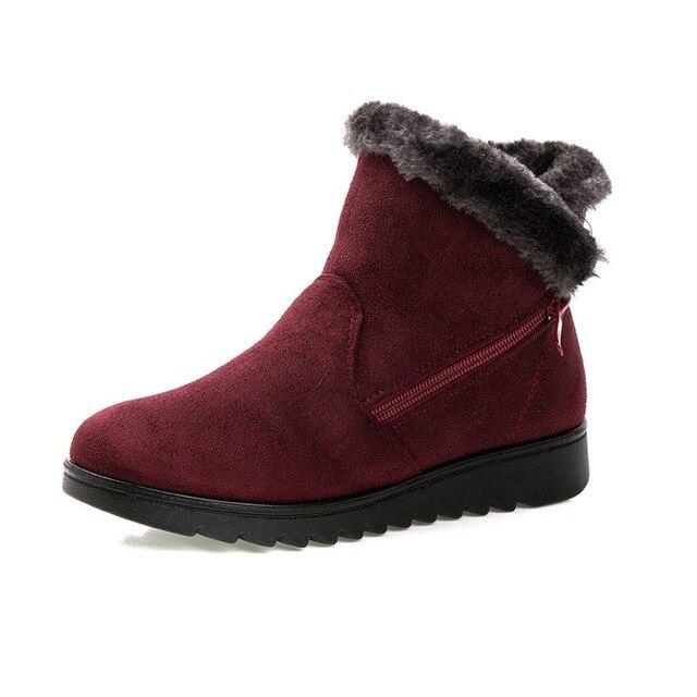 Timetang женская зимняя обувь женские ботильоны Новинка 3 цвета модные повседневные плоские теплые женские зимние сапоги бесплатная доставка
