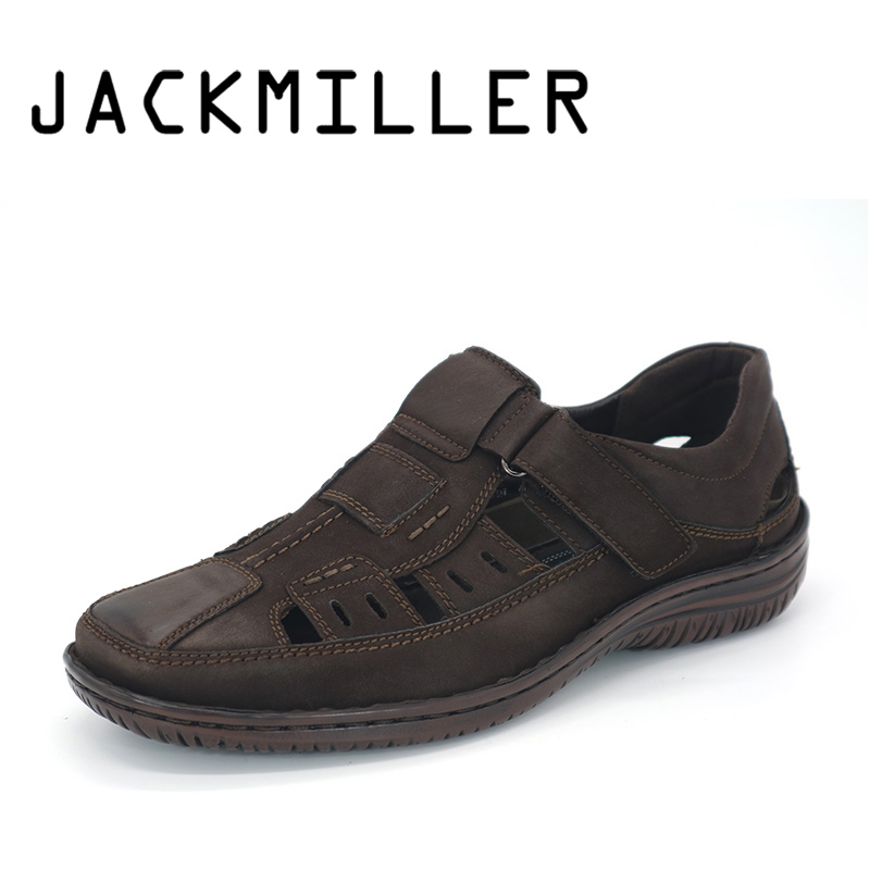 Jackmiller Summer Men's Sandals Beach Shoes High Quality Men Casual Shoes Super Light Breathable Mens sneakers shoes casual Hot