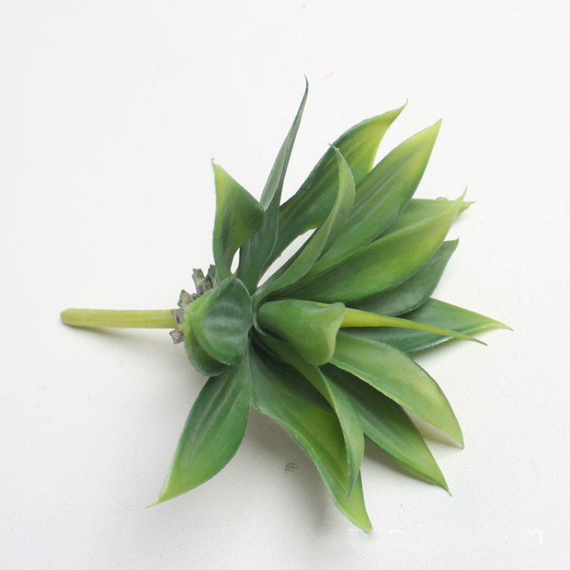 Artificial succulent plants Tropical plants artificial flowers mini green Artificial Succulents Plants home garden decoration