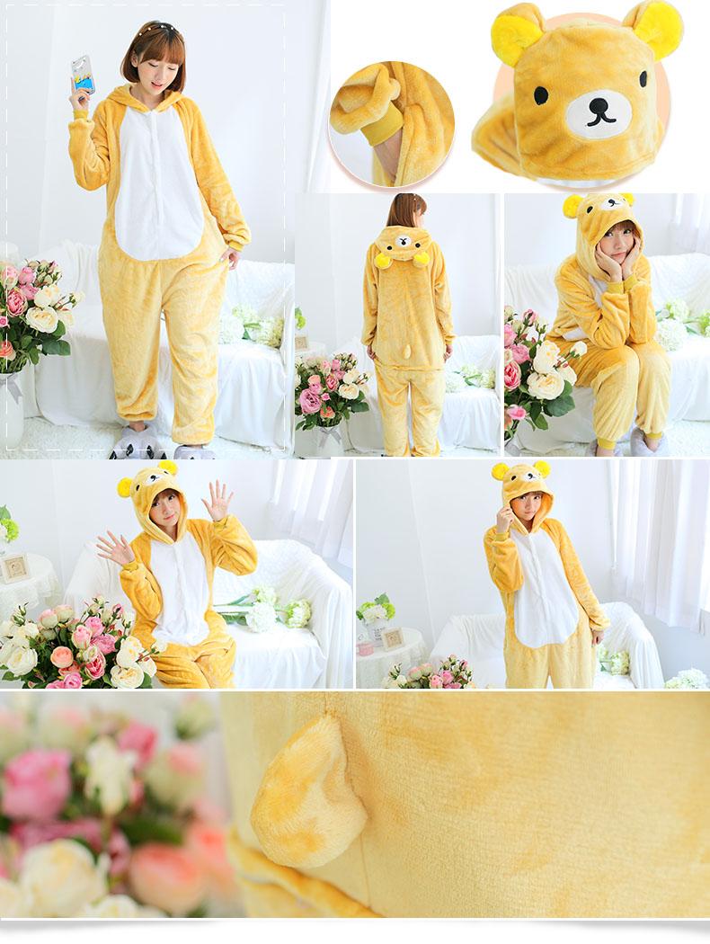 HTB1 xONQXXXXXX4XFXXq6xXFXXXt - Pink Unicorn Pajamas Sets Flannel Pajamas Winter Nightie Stitch Pyjamas for Women Adults