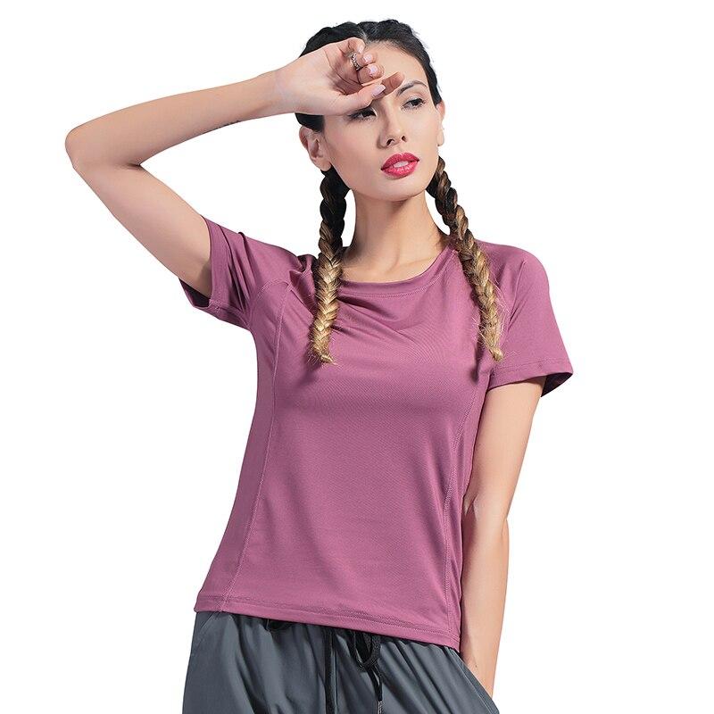 Gym Shirts Quick Dry Sport Running Fitness Womens T-Shirt T-Shirts & Sports Tops