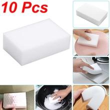 Vhome 10 шт. волшебная губка Ластик кухонная тряпка принадлежность для чистки/микрофибра для чистки посуды меламиновая губка Nano 10*6*2 см