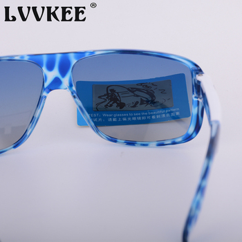 LVVKEE 2018 Brand Male Polarized Sunglasses Outdoor sports Men/Women Transparent Colorful frame Sun Glasses oculos mormaii surf 8