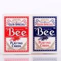1 шт. США Native Bee Палубе Красный или Синий Магия Игры карты Покер Магия Палуба Магия Реквизит Фокусы для Профессионального маг