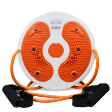 Massage pedal waist wriggling plate with pull rope for losing weight health care legs and waist fitness light and handy