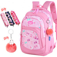 4e293efe58a Children School Backpack Girl School Bag Waterproof Light Weight Girls  Backpack Kids Satchel Schoolbag Printing Backpack