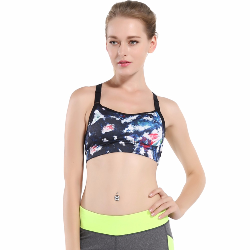 f8b5c2a85412d ... Bra B.BANG Women Sports Bra for Running Gym Fitness Workout Yoga  Adjustable Sport Tops Stretch Push Up Woman Bras. Sale!   