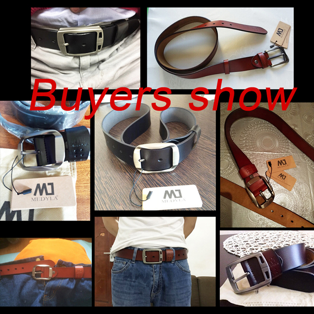 High Quality Genuine Leather Luxury Belt For Men