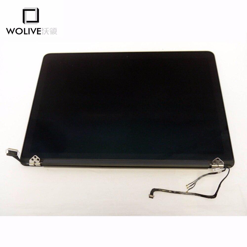 Assemblage LCD/LED d'origine pour Macbook Pro Retina 13.3 pouces A1502 2013 2014 écran d'affichage couleur argent