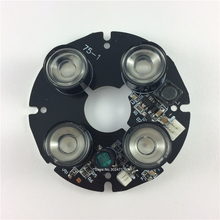 90D 4 IR led board,Spot Light Infrared 4x IR LED board for CCTV cameras night vision.CY-ZL4AD01