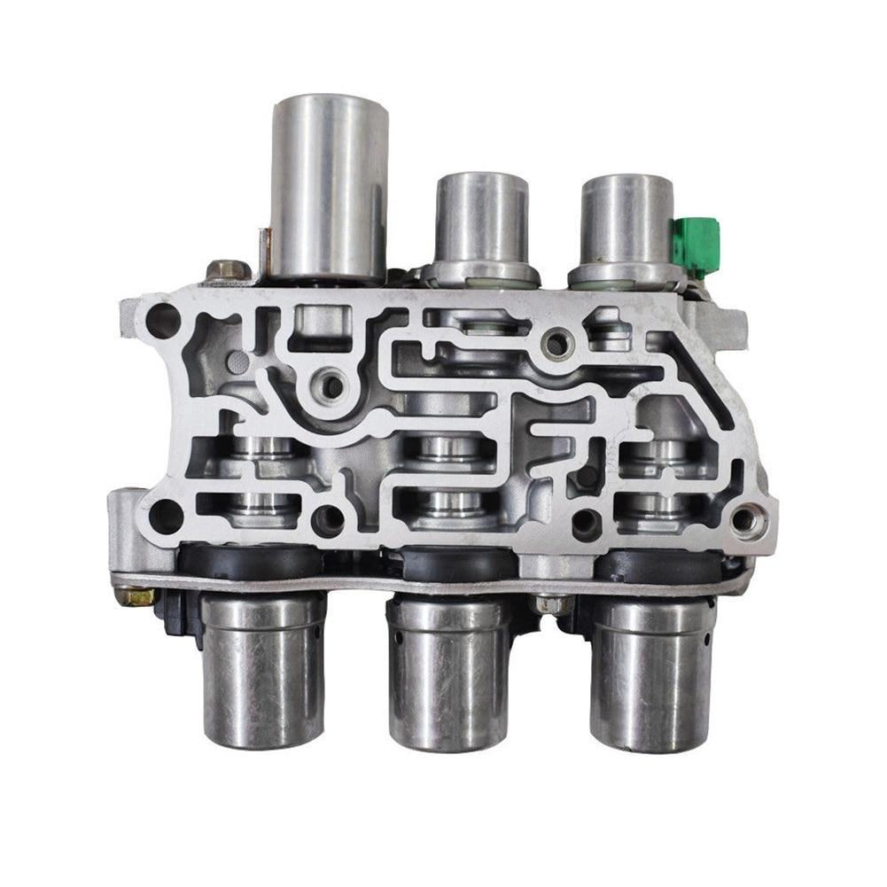 Paquet de solénoïdes de bloc de soupape de commande de solénoïde de Transmission testé par 4F 27E pour Ford Mazda CSL2018