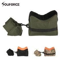 옥스포드 헝겊 Tatical Front & Rear Sandbag Support 필링 기가없는 사냥 용 소총 가방 슈팅 가방