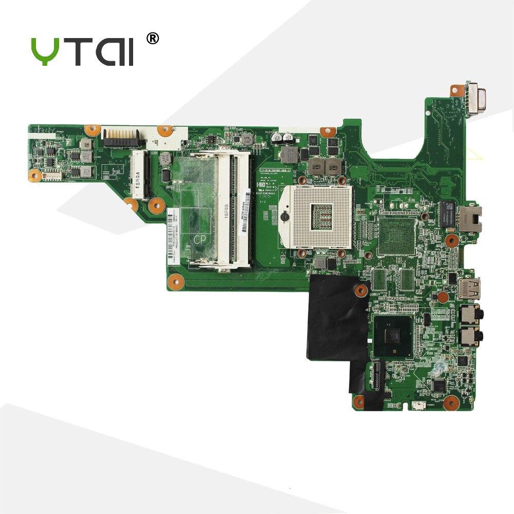 YTAI HM55 CQ43 CQ57 carte mère Pour HP CQ43 CQ57 430 431 435 630 635 Ordinateur Portable Carte Mère PGA989 DDR3 garantie 90 jours