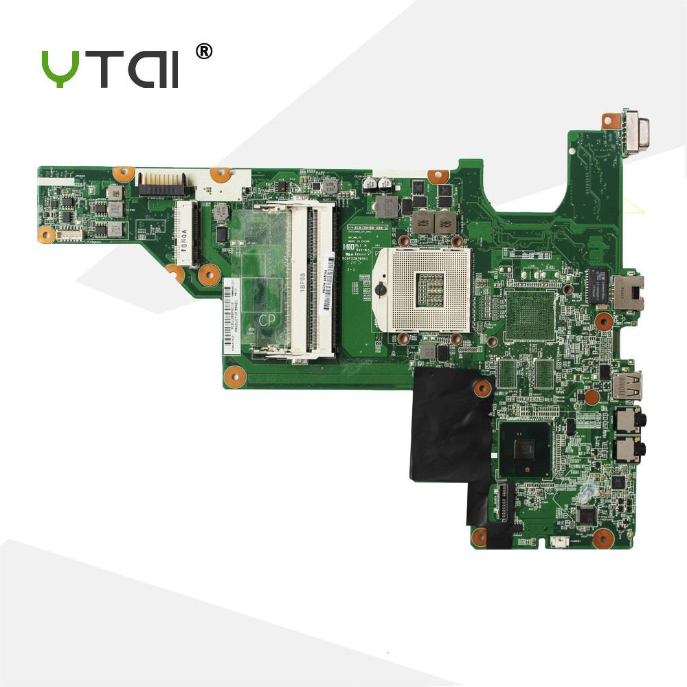 YTAI HM55 CQ43 CQ57 motherboard For HP CQ43 CQ57 430 431 435 630 635 Laptop Motherboard PGA989 DDR3 warranty 90 days nokotion 646176 001 laptop motherboard for hp cq43 intel hm55 ati hd 6370 ddr3 mainboard full tested