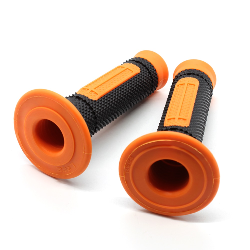 NEW PRO TAPER ORANGE HANDLEBAR GRIPS MOTOCROSS TRAILS MX 22MM 7//8 DIRT BIKE HAND