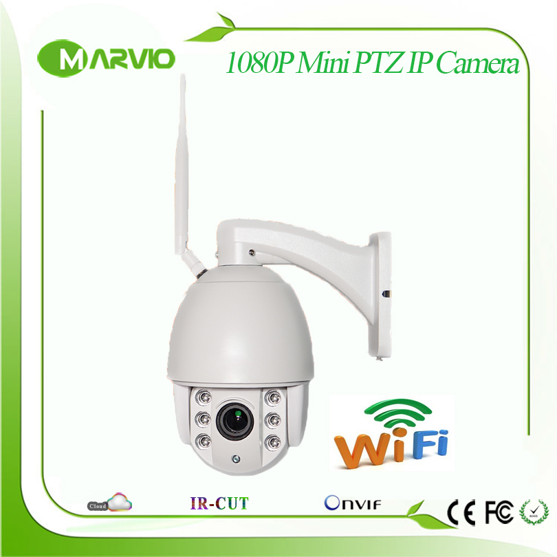 New 1080P 2MP FUll HD wifi wireless Mini Speed Dome IP PTZ Network camera 2.8-12mm Lens 70m IR Night Vision Distance 4 in 1 ir high speed dome camera ahd tvi cvi cvbs 1080p output ir night vision 150m ptz dome camera with wiper