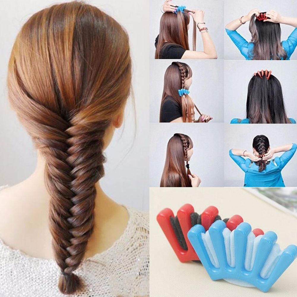 Braider Twist-Braiding-Tool Sponge-Hair Charming French-Style Girls Women DIY 1pcs