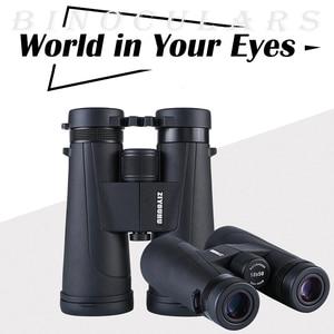 New Arrival 12x50 HD Professional Binoculars Large Objective Lens BAK4 Prism Binocular Telescope lll Night Vision Summer Hiking