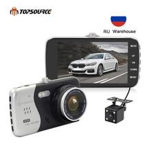 TOPSOURCE 4 Original IPS Screen Car DVR Novatek NTK96658 Camera T810 Dash Full HD 1080P Video 170 Degree Cam