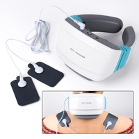 Electric pulse Acupuncture Neck massager health care Cervical therapy instrument Charge patch massage