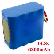 14.8v 6200mah rechargeable li-ion polymer battery pack supplier in china for power source