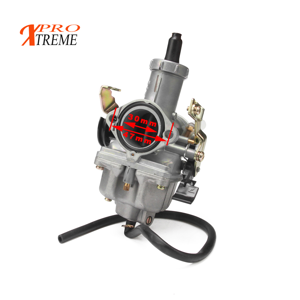 Image 2 - Russian overseas warehouse PZ30 IRBIS TTR250 Tuning Tuned Power Jet For Keihin 30mm Carburetor Visiable Twister Cable grips-in Carburetor from Automobiles & Motorcycles