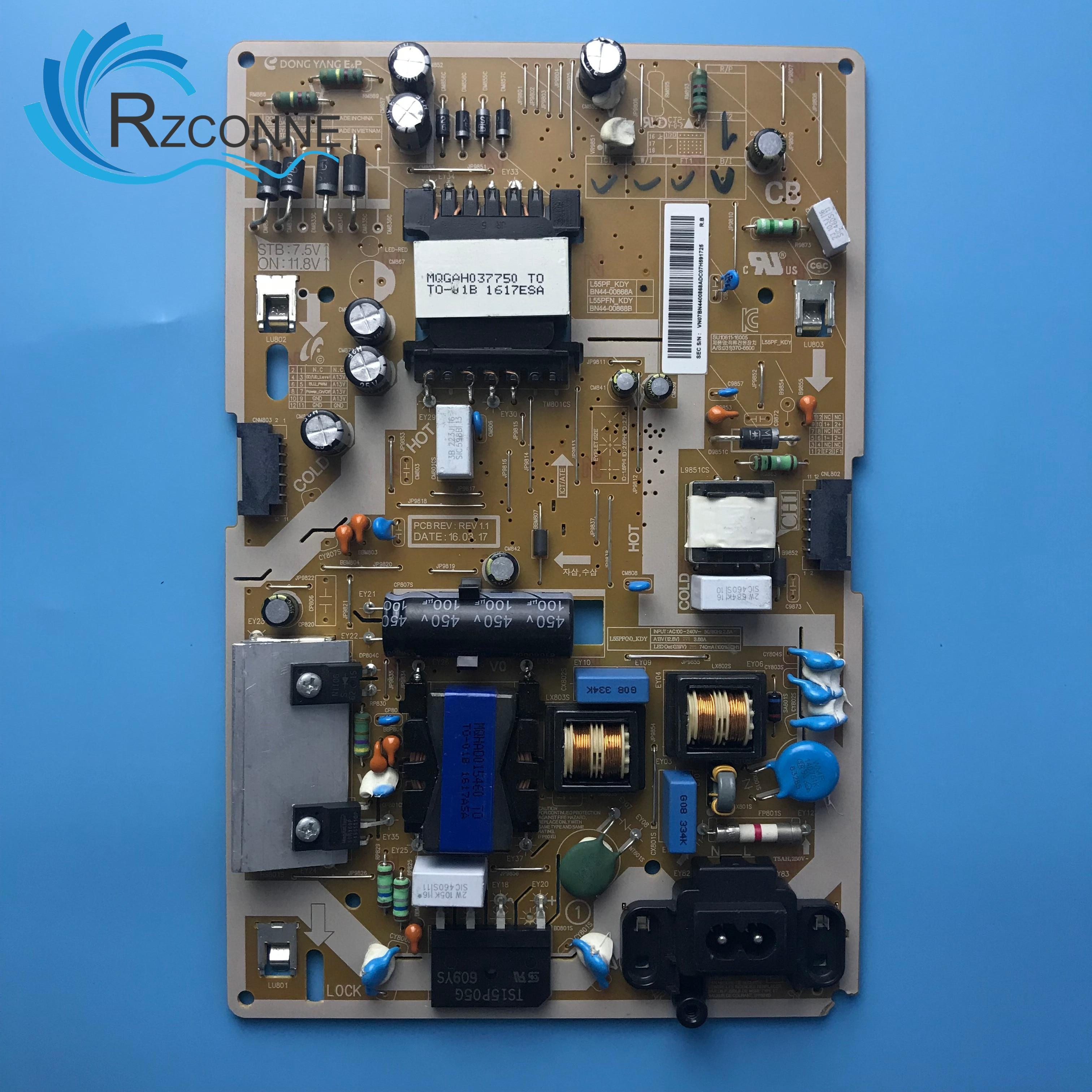 Used Power Board Card Supply BN44-00867A BN44-00868A L55PF_KDY For 49 Inch Samsung LCD TV UA49K5300AJXXZ
