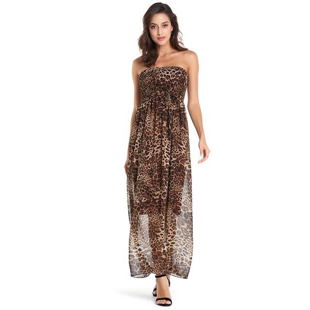 AIEnny Boho Style Long Women Off shoulder Beach Summer Floral Print Maxi Dress