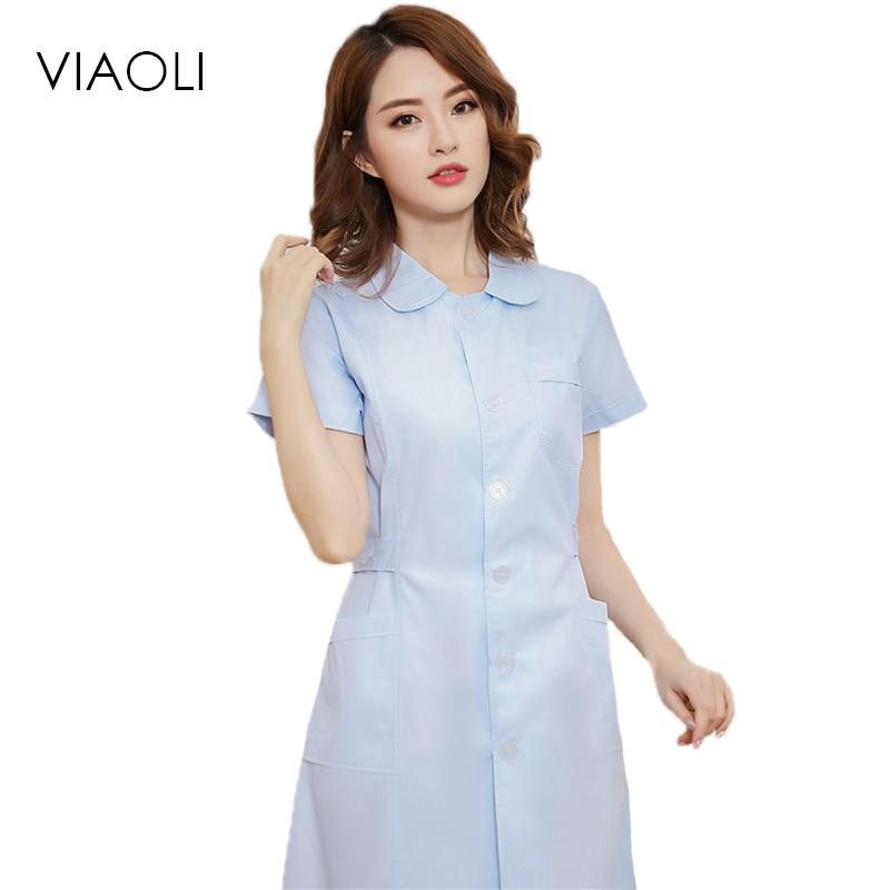 6e7fc222e20 Buy white collar nurse uniform and get free shipping on AliExpress.com