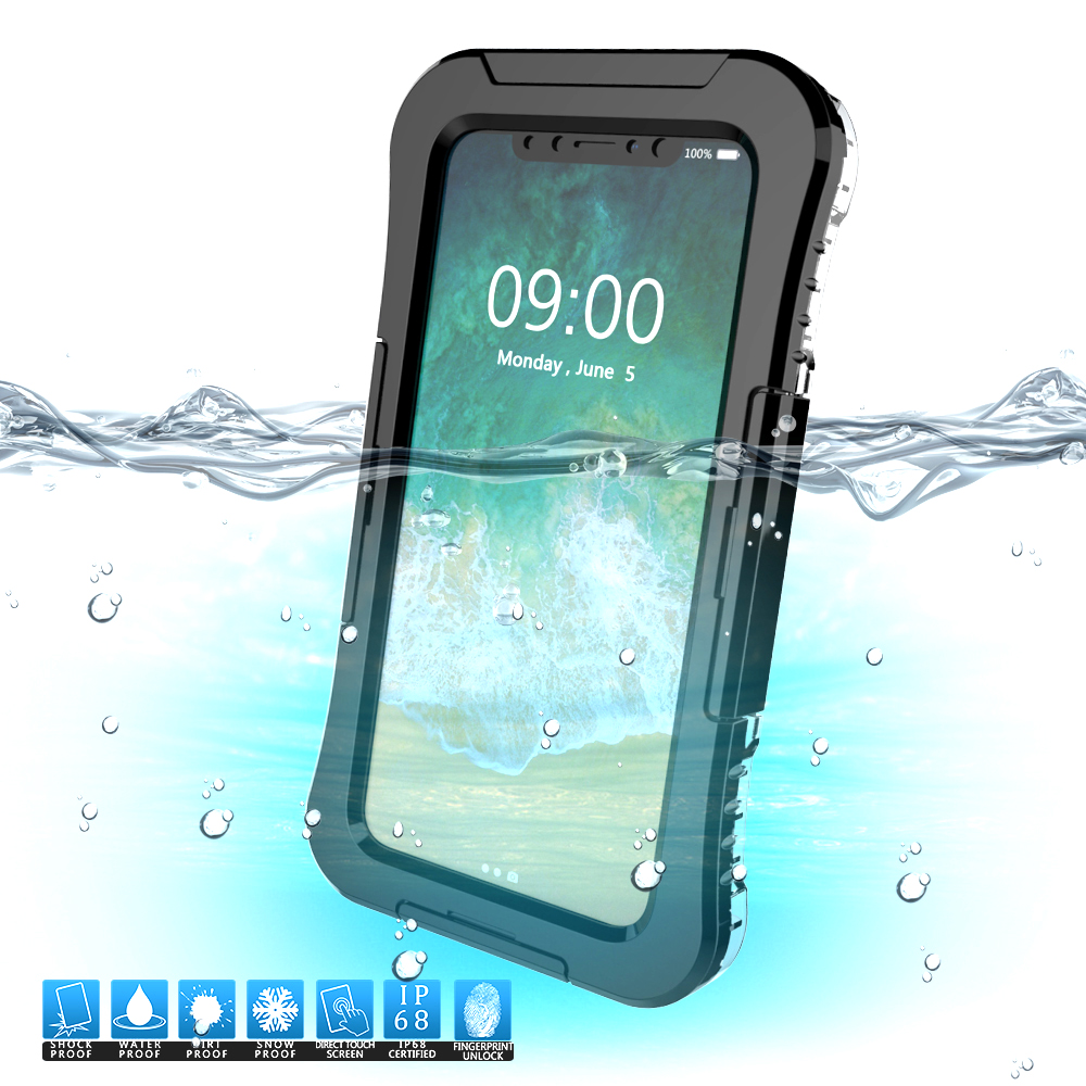 IP68 Waterproof <font><b>Case</b></font> For iPhone 5 5S SE 6 6S 7 8 X XR XS Max <font><b>Phone</b></font> <font><b>Case</b></font> Underwater Diving <font><b>Water</b></font> <font><b>Proof</b></font> Cover For iPhone 8 7 Plus image