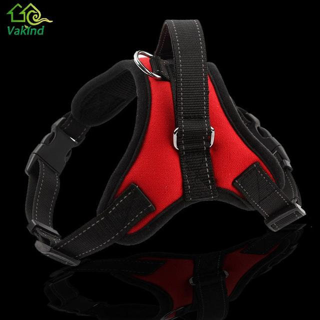 Adjustable 3 Colors Pet Puppy Large Dog Harness for Small Medium Large Dog Animals Pet Walk Out Hand Strap Dog Supplies