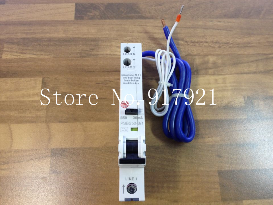 [ZOB] Imported WYLEX PSBS50-B/1 leakage protector compact leakage protection switch 1P50A 30MA --5pcs/lot