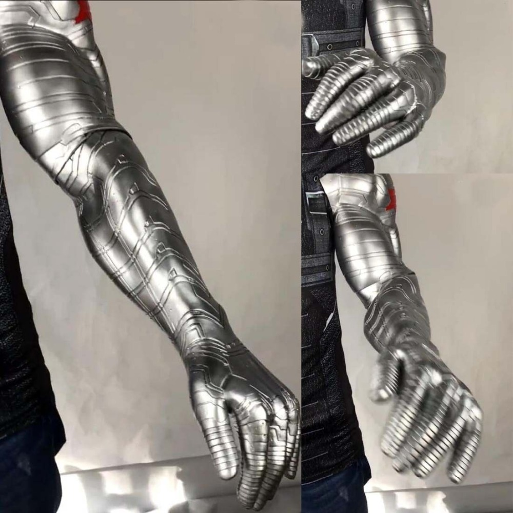 2018 New Winter Soldier Arm Cosplay Avengers Infinity War Bucky Barnes Arm Armor