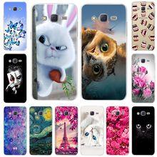 Pattern Soft TPU Case For Samsung Galaxy Grand Prime Case G530 G530H G531 G531H Case Cover For Samsung Galaxy G530 Silicone Bags стоимость