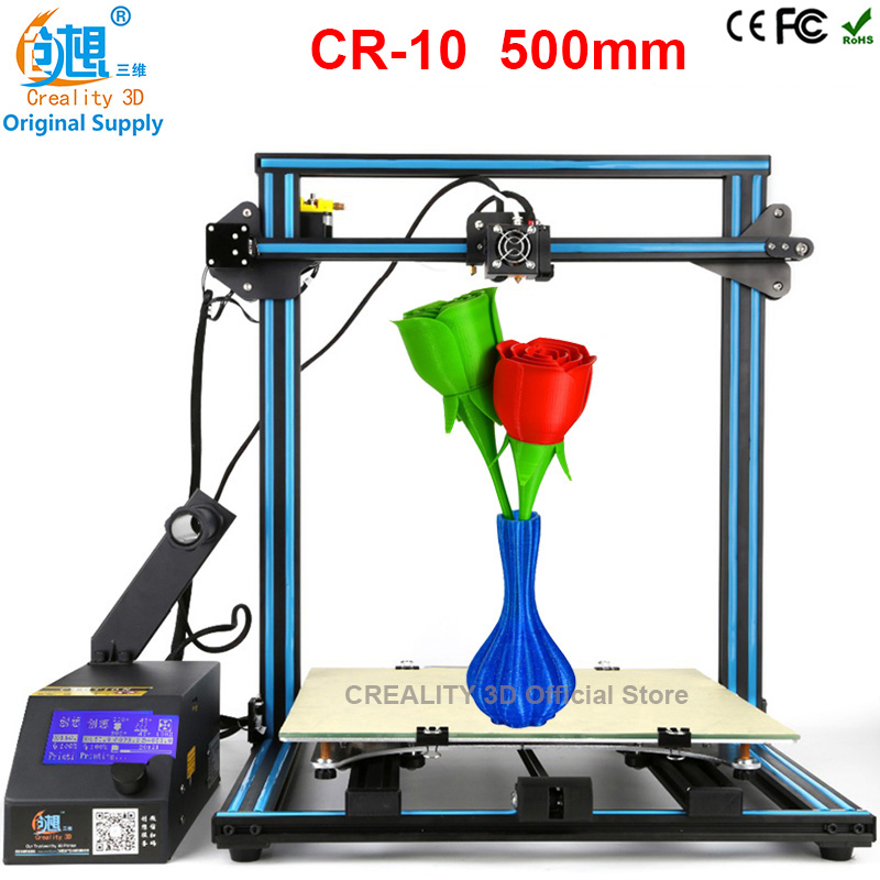3 d printer CREALITY 3D Aluminium Extrusion 3D Printer Machine 3d printing Free Filament card Hotbed