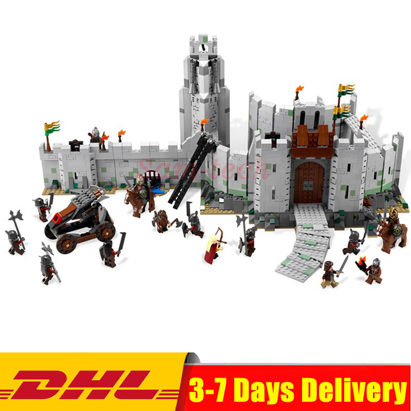 DHL IN STOCK 2018 Lepin 16013 1368Pcs The Lord of the Rings Series The Battle Of Helm' Deep Model Building Blocks Bricks Toys все цены