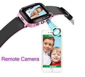 Image 5 - TOMU reloj inteligente para niños Y21S, reloj de muñeca de seguridad con control remoto, pantalla táctil, llamada de emergencia, Antipérdida LBS