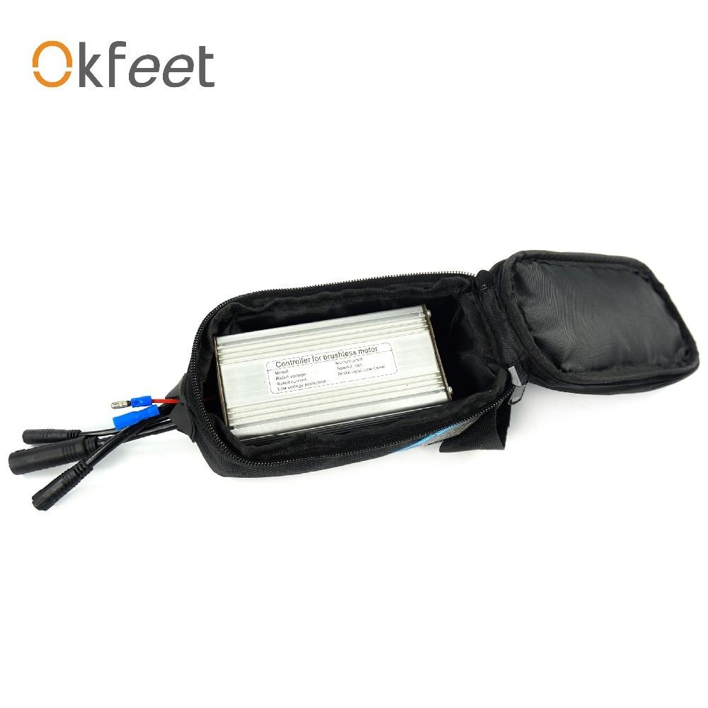 Okfeet Controller Tasche Box für 6/9 mosfets hohe qualität ebike umwandlungsinstallationssatz teile kleine controller case