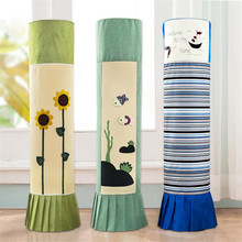 fabric cylindrica air conditioner cover vertical conditioning dust-proof decorative Embroidered