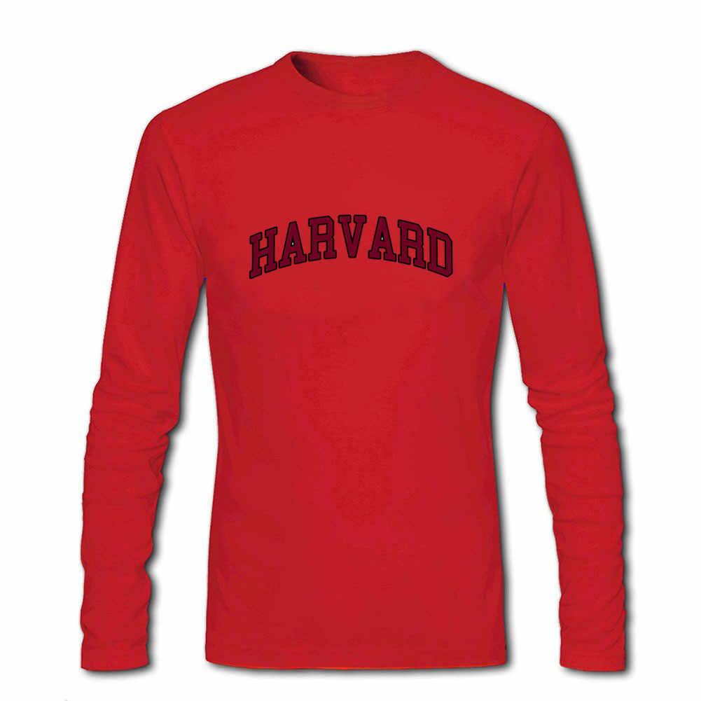 2020 Нью-Йоркская мода полиции Гарвардского университета футболки с длинными рукавами Официальный Лицензированный уличная подарок футболки мужские футболки
