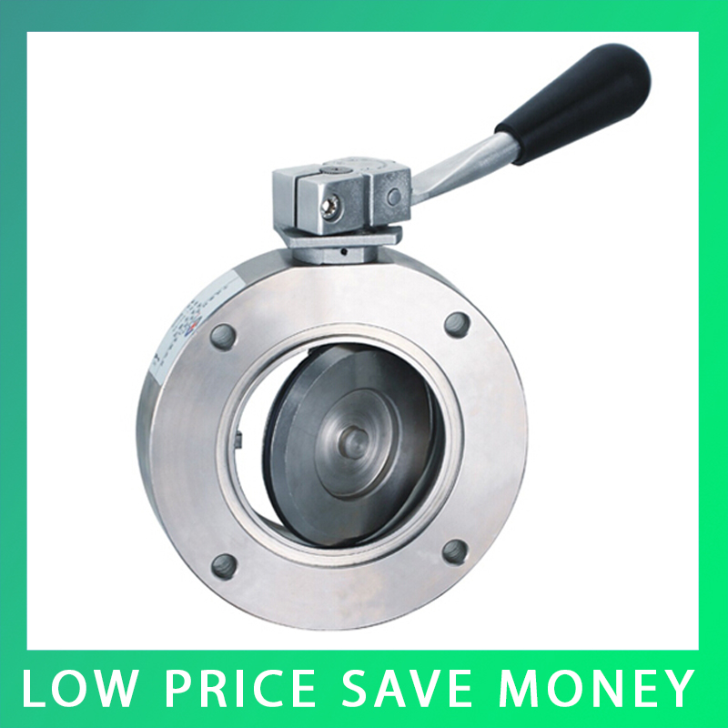DN25 Disc Valve Carbon Steel Hand Butterfly Valve