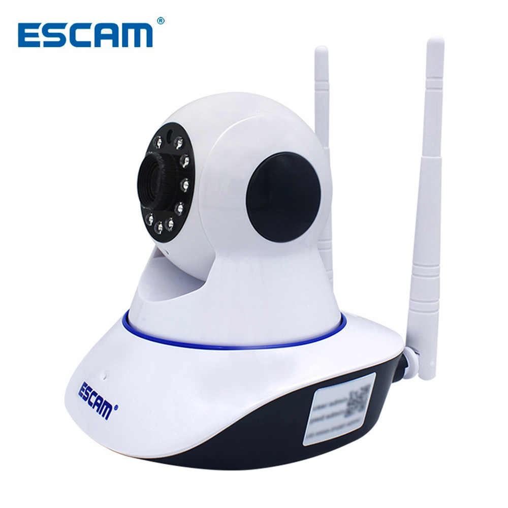 ESCAM G01 IP Network Camera Remote Viewing Move Detection Night Vision 1080P PTZ Support ONVIF Max Up to 128GB Video Monitor