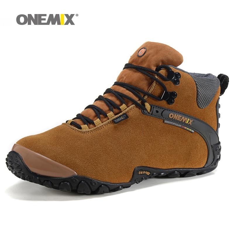 Onemix Winter Men Hiking Shoes