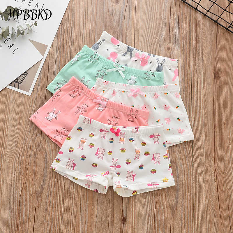49e7bc4f0ecd 5Pcs/lot Girls Cotton Boxer Briefs Children Panties Girls Boxer Shorts  Children's Panties Kids Underwear