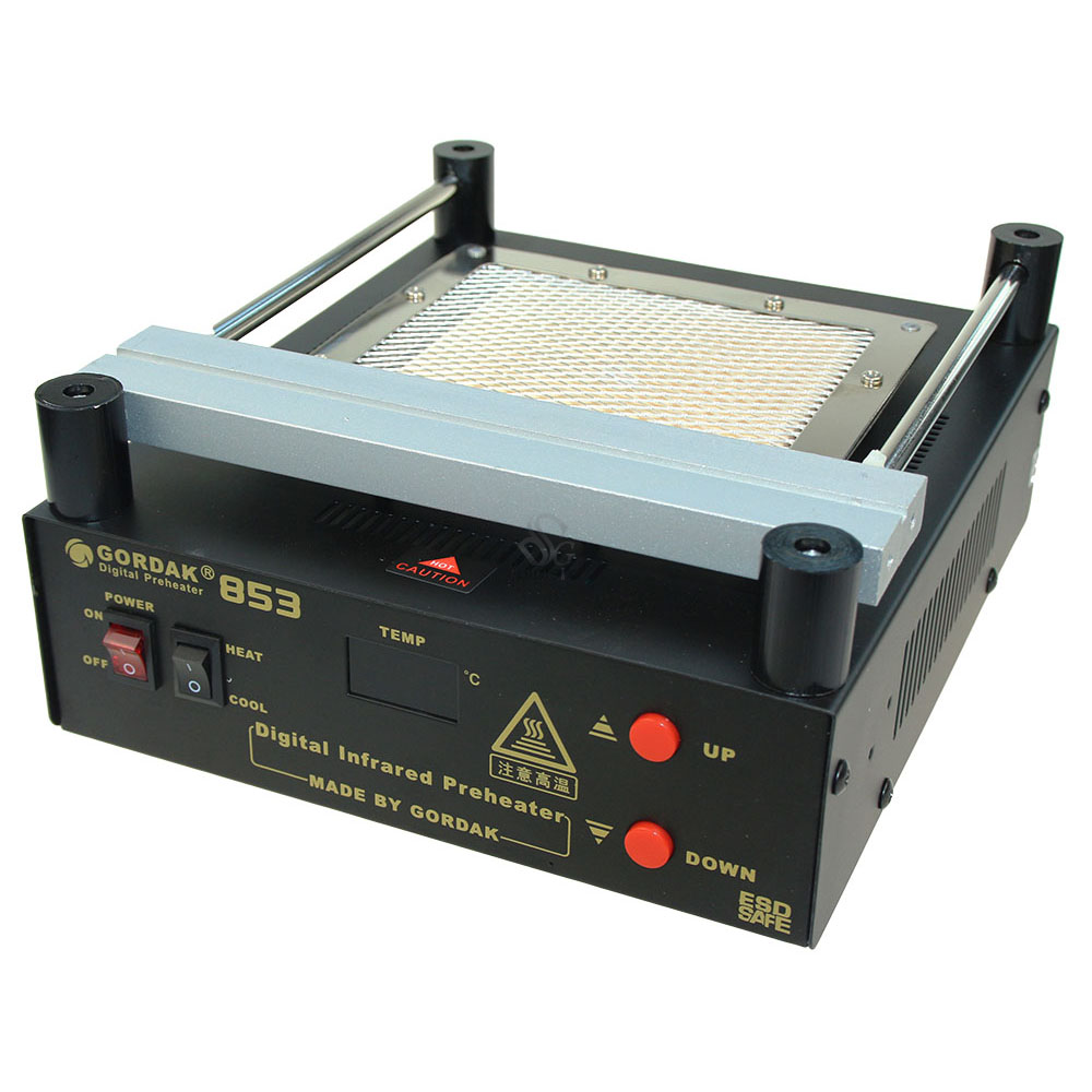 YIHUA 853A Lead-Free Preheat Rework Station Motherboard BGA Preheating Soldering Station For SMT Rework Repair 853a bga constant temperature lead free preheating stations
