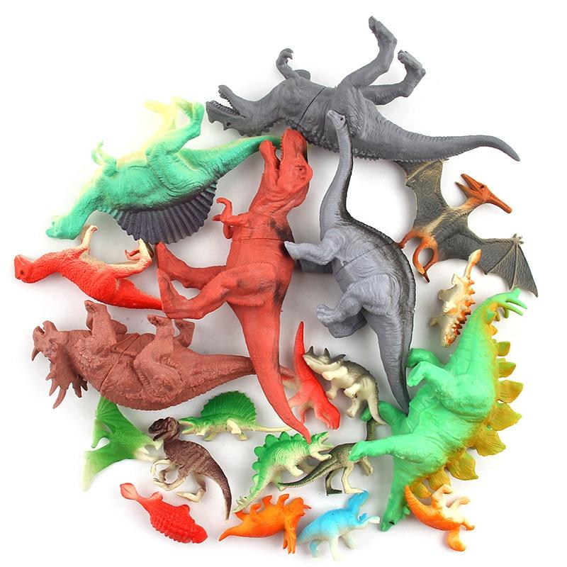 (8/12/20 հատ / լոտ) Dinosaur Toy Model Model Plastic - Խաղային արձանիկներ - Լուսանկար 2