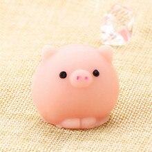 Милый Мяч-свинка Mochi мягкое тиснение молитва милая игрушка Kawaii коллекция забавная шутка подарок антистрессовые игрушки Новинка