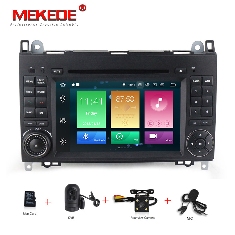 Android 8 0 7 Inch Car DVD Player Stereo System For Mercedes Benz Sprinter W209 W169