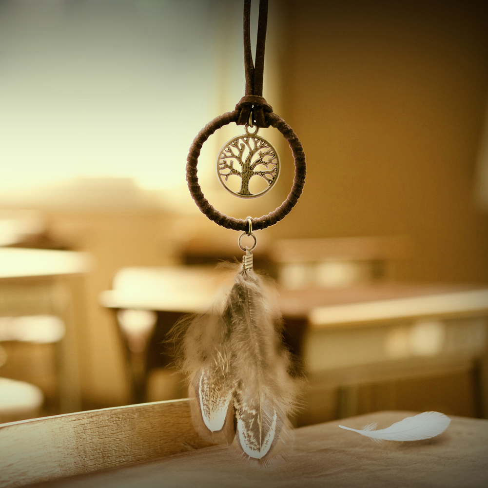 Online Shop 3Pcs Vintage Mini Dreamcatcher Keyring Handmade Dream ...